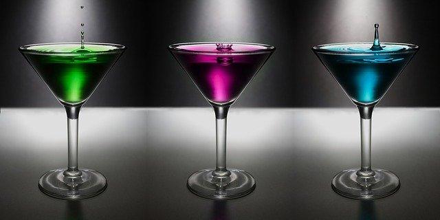 tři skleničky