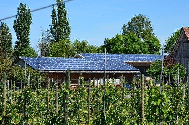 využití fotovoltaických panelů