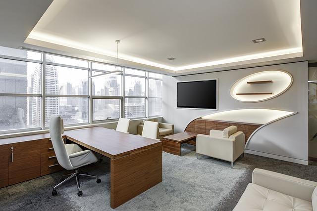 kancelář na pracovní schůzky