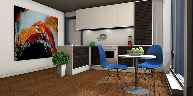 návrh moderní kuchyně