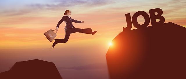 skok za prací