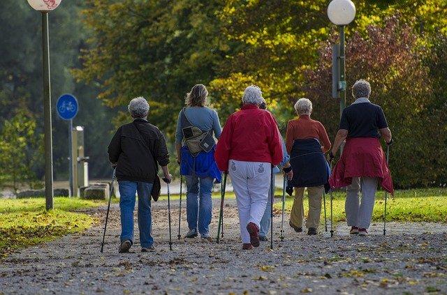 Nordic walking je pro každého!