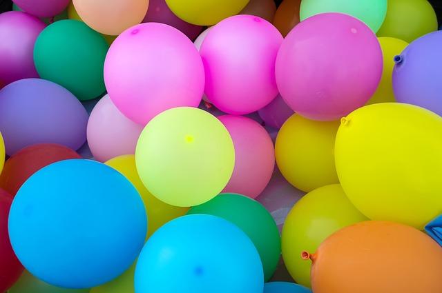 balonky na oslavu