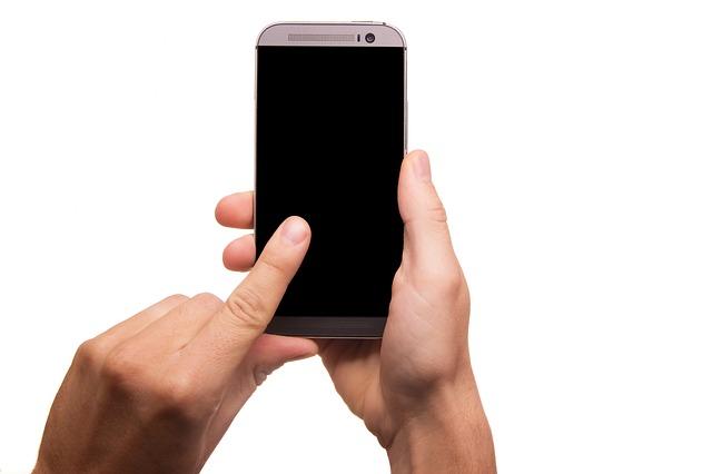 vypnutý smartphone