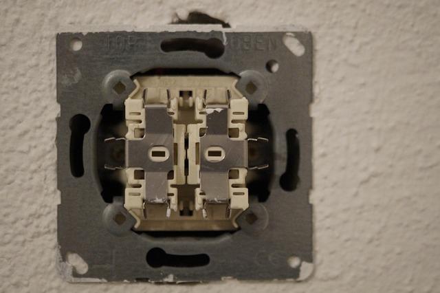 vnitřek vypínače