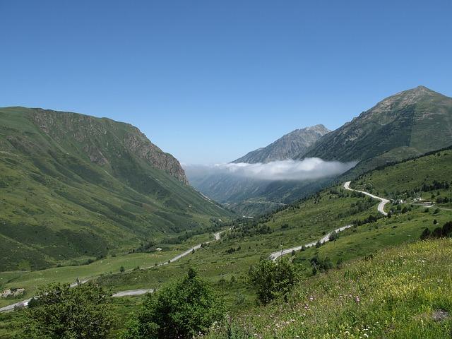 silnice v horách