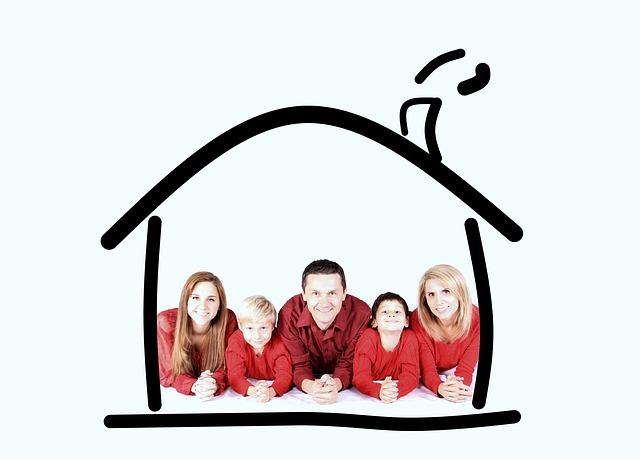 rodinka v domku