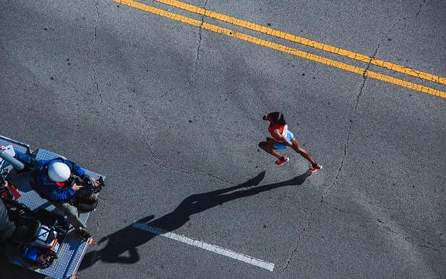 kameraman na závodech