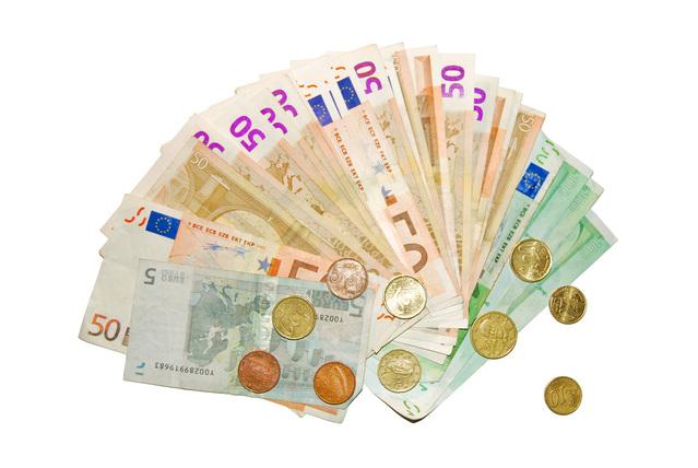 vějíř z peněz