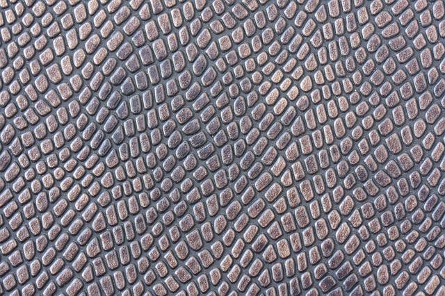 Detail-hadí kůže
