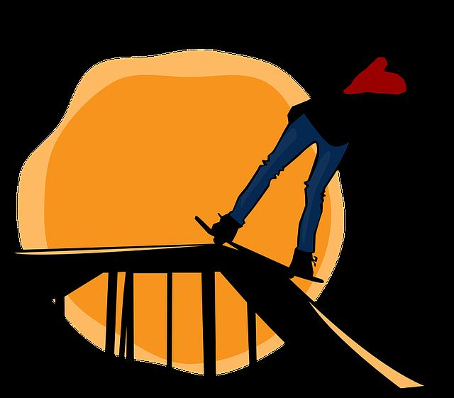 člověk na rampě