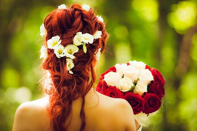 Dokonalý svatební účes