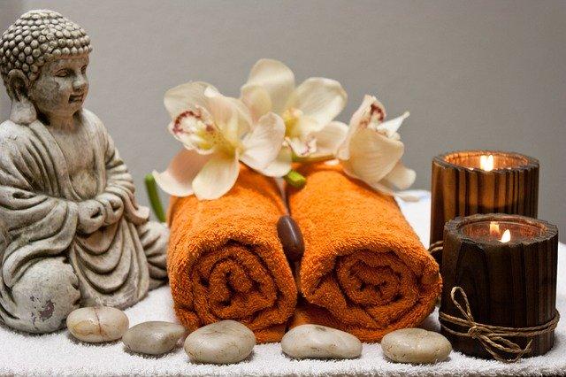 Uklidňující masáž